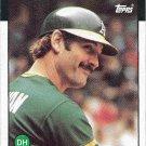 Dave Kingman 1986 Topps #410 Oakland Athletics Baseball Card