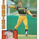 Jim Morrison 1984 Topps #44 Pittsburgh Pirates Baseball Card