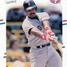 Jim Rice 1988 Fleer #361 Boston Red Sox Baseball Card