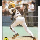Marvell Wynne 1986 Topps #525 Pittsburgh Pirates Baseball Card