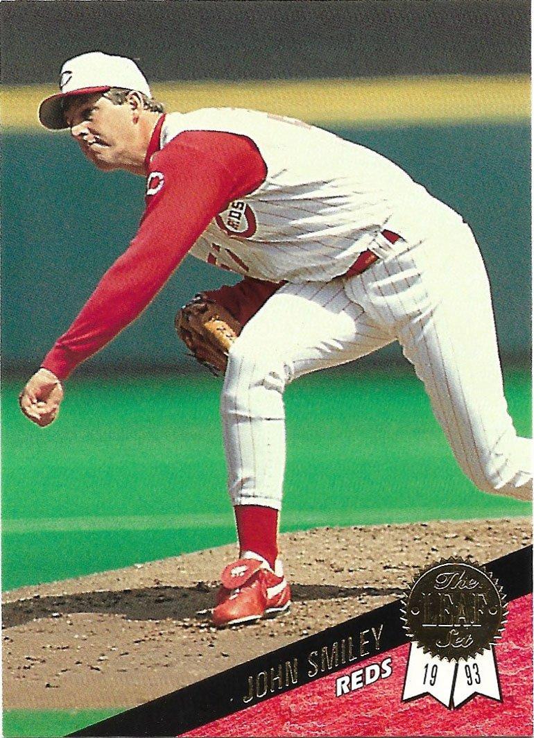 John Smiley 1993 Leaf #433 Cincinnati Reds Baseball Card