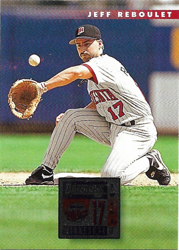 Jeff Reboulet 1996 Donruss #512 Minnesota Twins Baseball Card