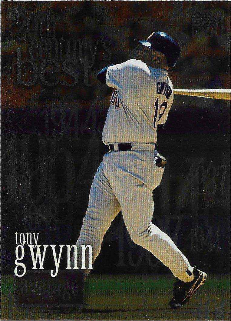 Tony Gwynn 2000 Topps #229 San Diego Padres Baseball Card