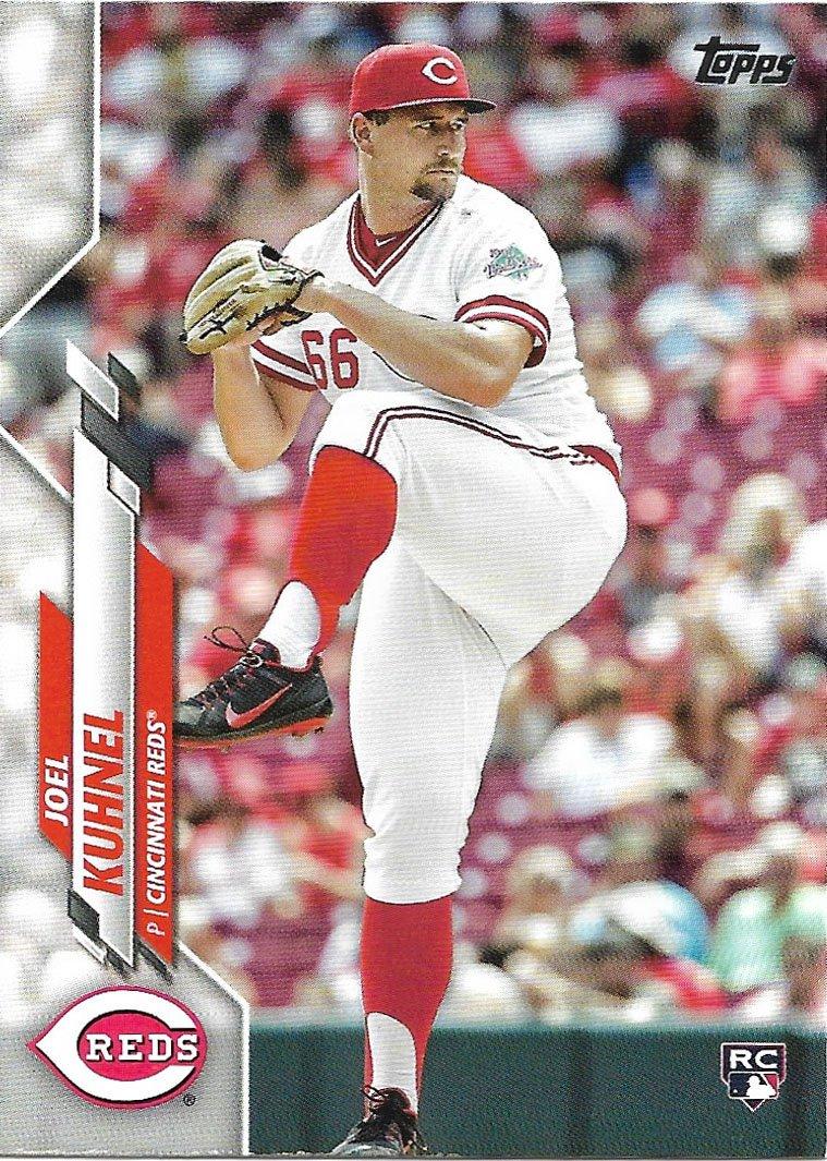 Joel Kuhnel 2020 Topps Update Rookie #U-281 Cincinnati Reds Baseball Card