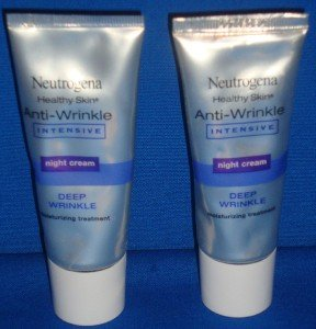 NEUTROGENA HEALTHY SKIN ANTI-WRINKLE INTENSIVE NIGHT CREAM 2-1.4oz LOOK