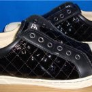 UGG Australia JEMMA QUILTED Black Patent Leather Sneakers Size US 7 NIB #1010651