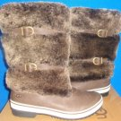 UGG Australia LILYAN STOUT Women's Waterproof Leather Boots Size US 6,EU 37 NEW