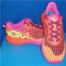 HOKA ONE ONE Neon Coral Plum Instinct Running Shoes Size US 8.5 NEW  #1012560