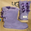 UGG Australia Bailey Bow Boots Size 5 Youth, EU 35, Women's 7 NEW #3280 Y