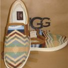 UGG Australia Chestnut FIERCE PENDLETON Slip On Shoes Size US 9 NIB #1010228