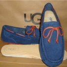 UGG Australia CHESTER Peacoat Suede Twinsole Slip On Shoes Size US 9 NIB 1005350