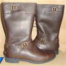 UGG Australia GERSHWIN Choc Waterproof Leather Lined Boots Size US 8 NIB 1001656