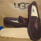 UGG Australia Men's BOYLAN Stout Brown Twinsole Moccasins Size US 11 NIB 1006164