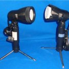 2 LIGHTING PULL OUT STANDS PHOTOGRAPHY PHOTO EQUIPMENT  WORKING