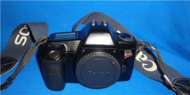 CANON EOS REBEL Black Camera Body Only Japan