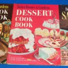 BETTER HOMES & GARDEN MEAT COOK, SALADS, AND DESERT BOOK lot of 3 Books