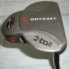 Odyssey 2-Ball White Steel Putter 36 inches Steel shaft Right Handed
