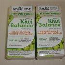Senokot  KIWI BALANCE  Natural Enzyme & Prebiotic  2 BOXES  of 60 Chewable Tablets each