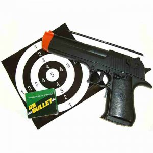 Semi-Automatic Pistol with Blowback