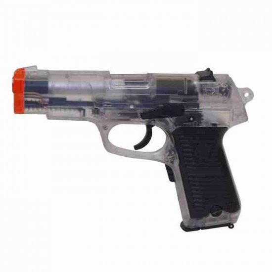 8 in Clear Semi Fully Automatic Pistol