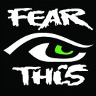 2 Pack of Custom Seattle Seahawks 12th Man Fear This EYE Vinyl Decals / Stickers