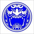 "2 Pack of Custom ""Oni Mask"" Vinyl Decals / Stickers"