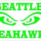 2 Pack of Custom Seattle Seahawks 12th Man Vinyl Decals / Stickers