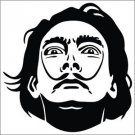 2 Pack of Custom Salvador Dali Vinyl Decals / Stickers