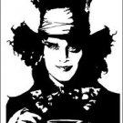 2 Pack of Custom Mad Hatter Vinyl Decals / Stickers