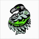 Seattle Seahawks 12th Man Vinyl Decal / Sticker