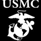 "2 Pack of Custom ""USMC"" Vinyl Decals / Stickers"