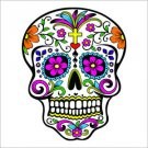 Sugar Skull Vinyl Decal / Sticker