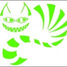 Chesshire Cat Vinyl Decals / Stickers 2(TWO) Pack