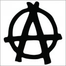 Anarchy Vinyl Decals / Stickers 2(TWO) Pack