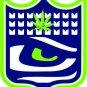 Seattle Seahawks Marijuana Shield Vinyl Decal / Sticker
