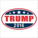 TRUMP 2016 Donald Trump for President Vinyl Decal / Sticker