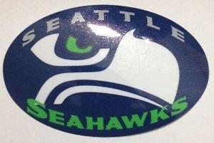 Seattle Seahawks Printed Vinyl Decal / Sticker