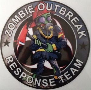 Zombie Outbreak Response Team Vinyl Decal / Sticker