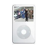 "White 60GB Video Ipod w/ 2.5"""" LCD"