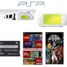 "Sony PSP """"Limited Edition"""" Ceramic White """"Star Wars Bundle"""" - 22 Games Hot Games"