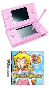 Nintendo DS Lite (Coral Pink) Bundle with 1 hot Game