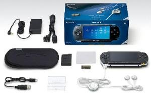 Sony PSP Giga Pack and Extra Accessories