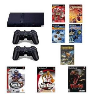 Smaller, Slimmer and Network Ready PlayStation 2 Sports Bundle