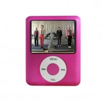 "Ipod NANO 3 Style MP4 Player 1.8"" TFT Screen 1 GB /pink"