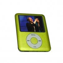 "Ipod NANO 3 Style MP4 Player 1.8"" TFT Screen 1 GB /Green"