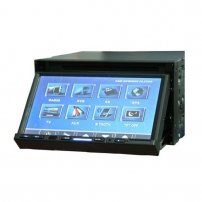 "7"" Double Din Car DVD Player with OSD touch screen, SD Card and Bluetooth(JE-276BT)"