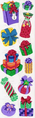 Holiday Present Stickers