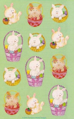 Maxi Bunny Stickers