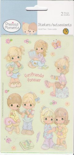 Precious Moments Girlfriends Forever Stickers