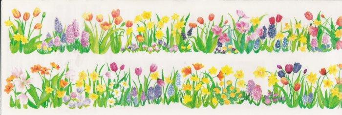Horizon Spring Flower Stickers